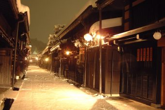 Takayama Traditional Buildings Preservation Area