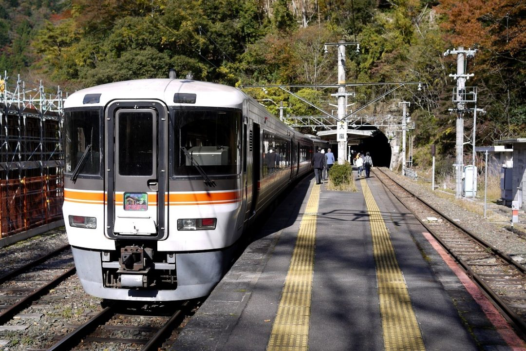 The Iida Line Unexplored Station Train