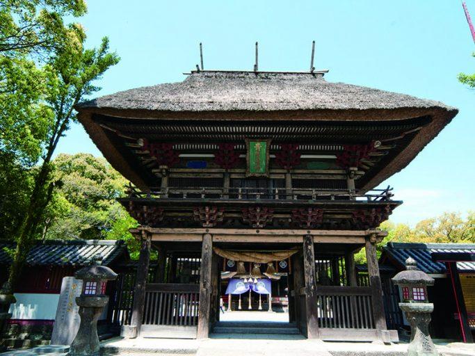 Aoi Aso-jinja Shrine