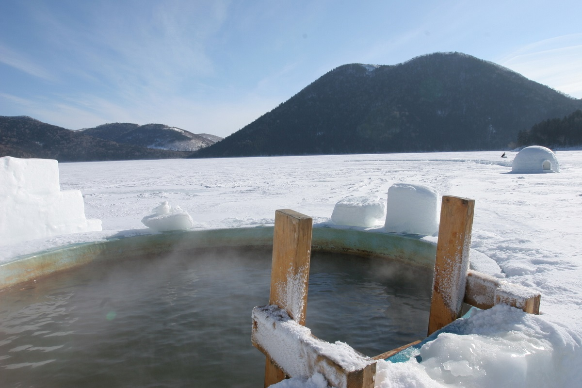 Lake Shikaribetsu Kotan
