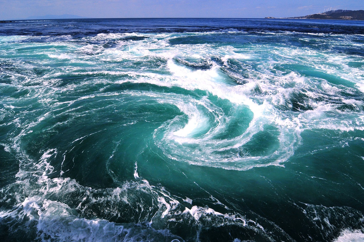 The Naruto Whirlpools
