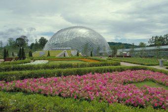 Tottori Prefectural Flower Park Hanakairo