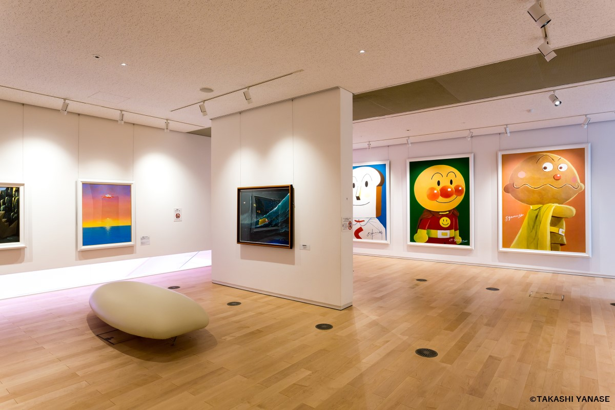 Yanase Takashi Memorial Hall, Anpanman Museum, and Poem and Marchen Gallery